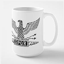 Roman Eagle 2 Basic Blk Mugs