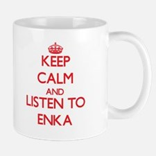 Keep calm and listen to ENKA Mugs