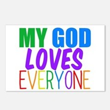 My God Loves Postcards (Package of 8)