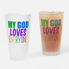My God Loves Drinking Glass