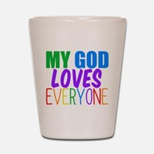 My God Loves Shot Glass