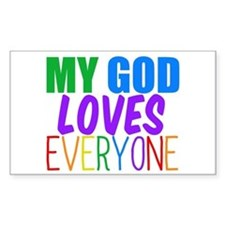 My God Loves Decal