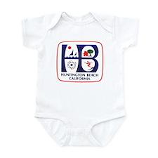 Huntington Beach California Infant Bodysuit