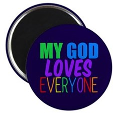 My God Loves Magnet