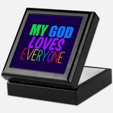 My God Loves Keepsake Box