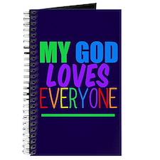 My God Loves Journal