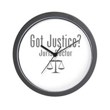 Got Justice? - Juris Doctor Wall Clock