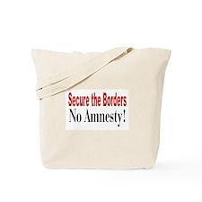 No Amnesty Tote Bag