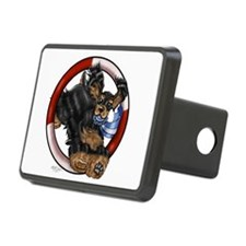 Agility Cocker Spaniel (Black/Tan) Hitch Cover