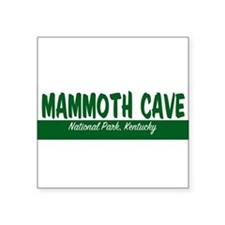 "Cute Mammoth cave national park Square Sticker 3"" x 3"""