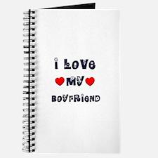 I Love MY BOYFRIEND Journal