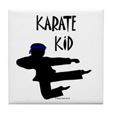 Karate Kid (Boy) Tile Coaster