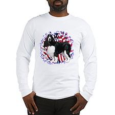 English Springer Patriotic Long Sleeve T-Shirt