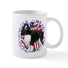 English Springer Patriotic Small Mug