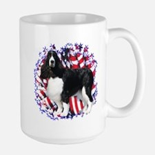 English Springer Patriotic Large Mug
