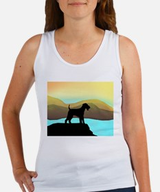 airedale by the sea wd1 Tank Top
