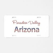 Custom Arizona Aluminum License Plate