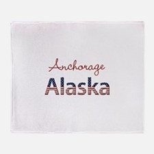 Custom Alaska Throw Blanket