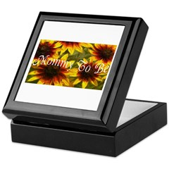 Mommy To Be (Floral) Keepsake Box