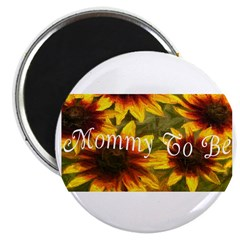 Mommy To Be (Floral) Magnet