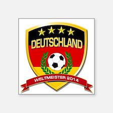 Deutschland Weltmeister 2014 Sticker