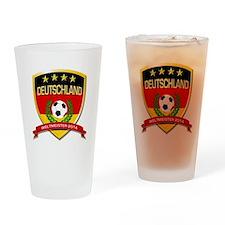Deutschland Weltmeister 2014 Drinking Glass