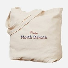 Custom North Dakota Tote Bag