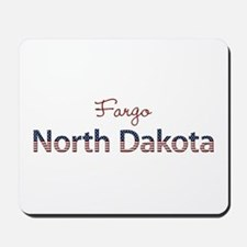Custom North Dakota Mousepad