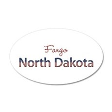 Custom North Dakota Wall Decal