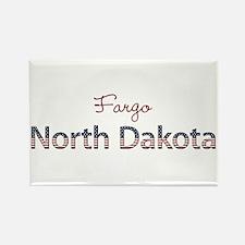 Custom North Dakota Rectangle Magnet