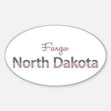 Custom North Dakota Decal