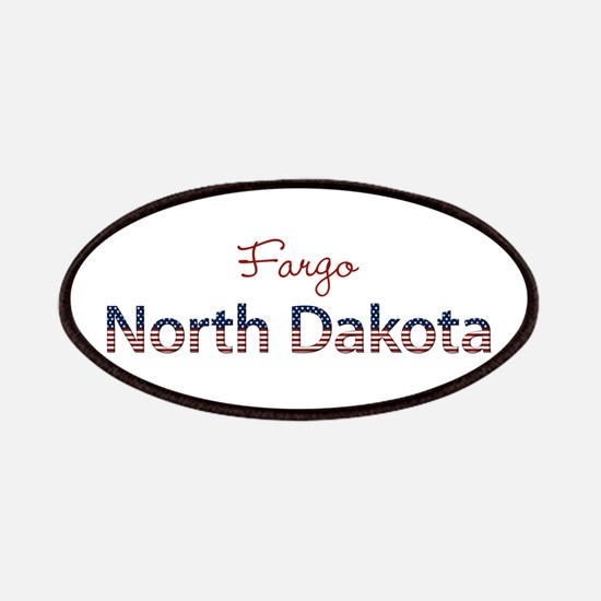 Custom North Dakota Patches