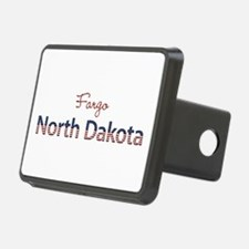 Custom North Dakota Hitch Cover