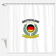 Deutschland Weltmeister 2014 Shower Curtain