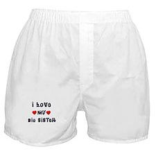 I Love MY BEST FRIEND Boxer Shorts