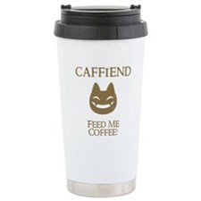 Caffiend Travel Mug