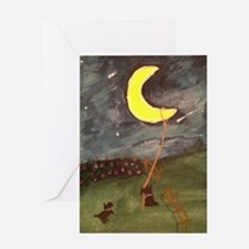 Scotties Hung the Moon Greeting Cards