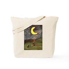 Scotties Hung the Moon Tote Bag