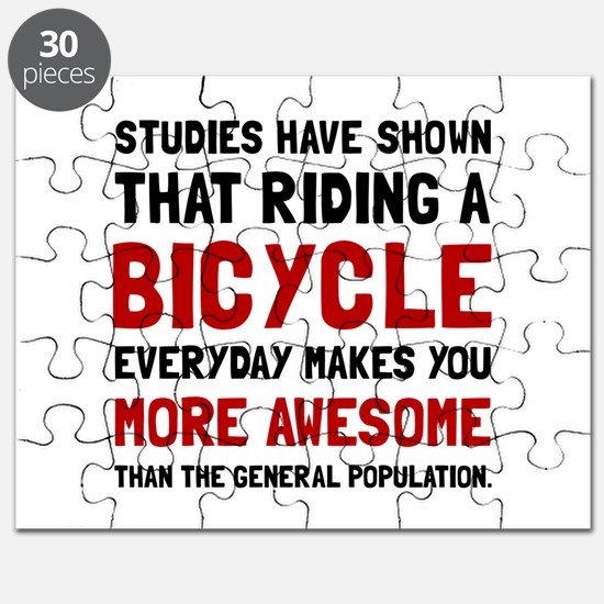 Bicycle More Awesome Puzzle