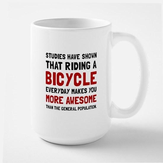 Bicycle More Awesome Mugs