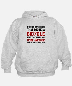 Bicycle More Awesome Hoodie