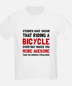 Bicycle More Awesome T-Shirt