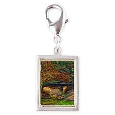 Millais: Drowning Ophelia Silver Portrait Charm