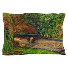 Millais: Drowning Ophelia Pillow Case