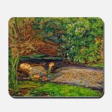 Millais: Drowning Ophelia Mousepad