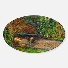 Millais: Drowning Ophelia Decal
