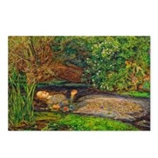 Millais: Drowning Ophelia Postcards (Package of 8)