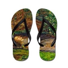 Millais: Drowning Ophelia Flip Flops