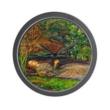 Millais: Drowning Ophelia Wall Clock