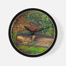 Millais: Drowning Ophelia Wall Clock